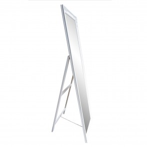 Free-Standing Cheval Mirror White