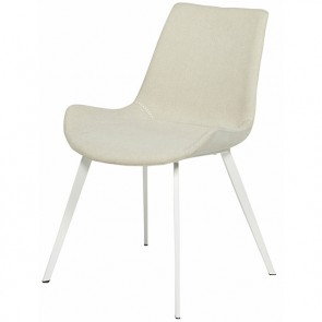 Cleo Dining Chair White/Pearl Grey Speckle