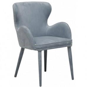 Daphne Arm Chair - Dust Blue