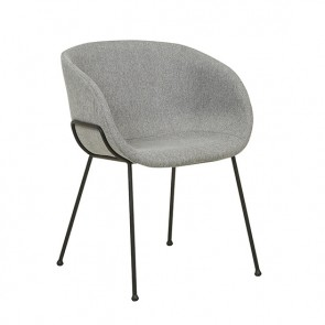 Duke Arm Chair Grey Speckle