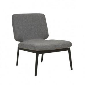 The Felix Metal Leg Chair Flint Grey