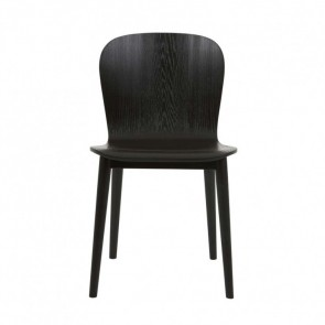 Sketch Puddle Dining Chair by Globe West - Black Onyx