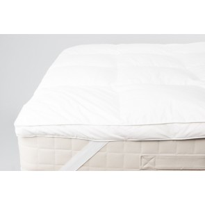 Mattress Toppers Elasticated White Range