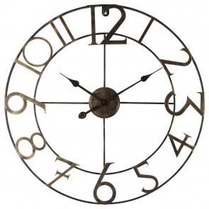 Oversized William Iron Wall Clock