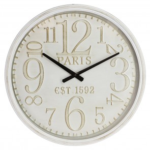 Oversize Paris Iron Wall Clock