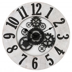 Oversized Inside Out Wall Clock