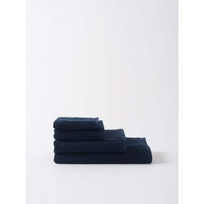 Classic Organic Cotton Towels - Navy