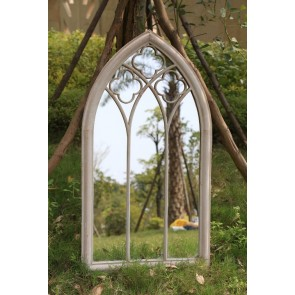 Club Arch Metal Outdoor Mirror