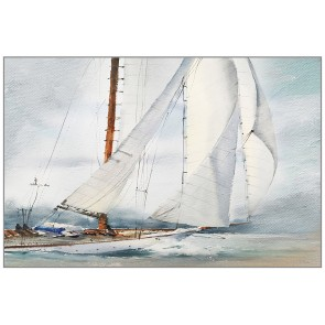 Challenger of the Sea Canvas Art