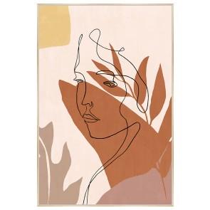 Contemplation Print Canvas Art