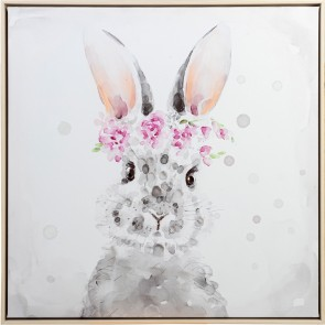 Princess Bunny Print with Frame
