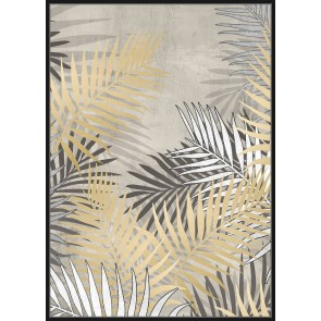 In the Palm Framed Canvas Print