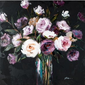 Smell The Roses Canvas Art