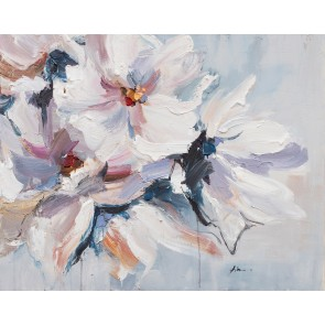 Shades of White Canvas Art