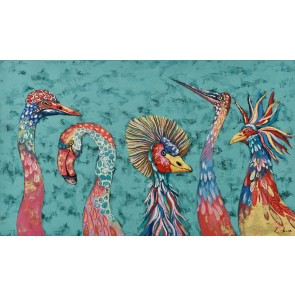 Birds of a Feather Canvas Art
