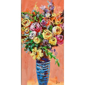 Cheerful Urn Canvas Art