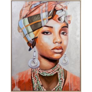 Graceful Lady Oil Painting