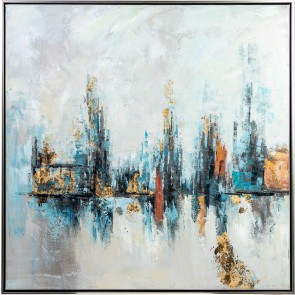 Frequency Oil Painting with Frame