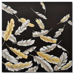 Free Fall Oil Painting Canvas Art