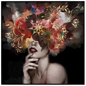 Floral Explosion Canvas Art