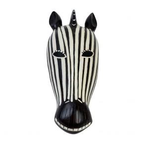 Zebra I Head Wall Plaque