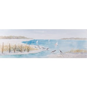 Sun & Sea Canvas Art