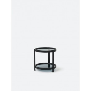 Column Side Table - Black