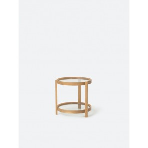 Column Side Table - Oak