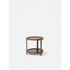 Column Side Table - Walnut
