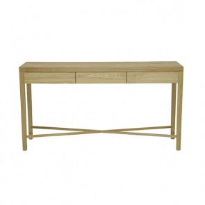 Ascot Cross Console - Natural Ash