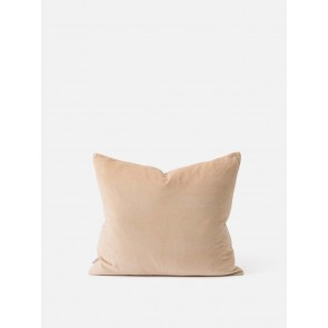 2 Pack Cotton Velvet Cushion Cover - Biscuit