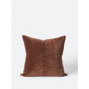 2 Pack Cotton Velvet Cushion Cover - Brick