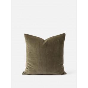 2 Pack Cotton Velvet Cushion Cover - Sage
