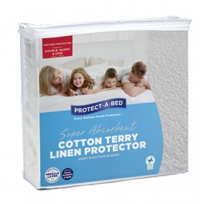 Cotton Terry Linen Protector by Protect-A-Bed
