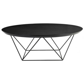 Como Coffee Table Large - Black Oak