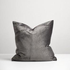 Metal Croc Cushion