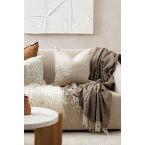 Cyprian Cushion by Mulberi - Oatmeal