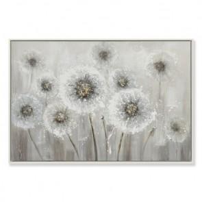 Dandelion Framed Oil Painting