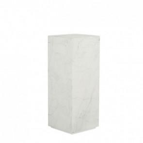 Elle Block Plinth by Globe West - Matt White