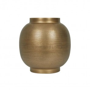 Harira Woven Curve Planter by Globe West
