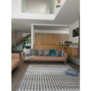 Limon Houndstooth Floor Rug