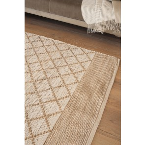 Plimmerton Natural/White Floor Rug