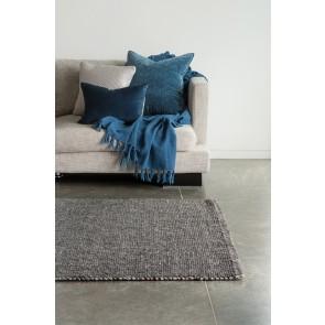 Mulberi Nebraska Charcoal Floor Rug