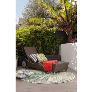 Limon In & Outdoor Canopy Cream-Green Floor Rug
