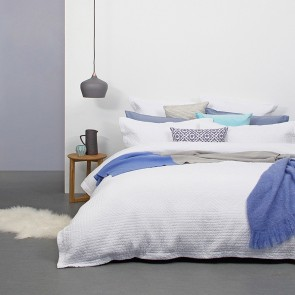 Elise Quilted Duvet Cover Set by Bambury