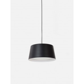 Ellipse Pendant Tall Black Large