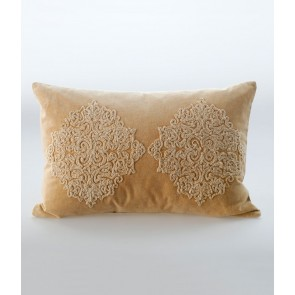Emblem Cushion by MM Linen - Gold