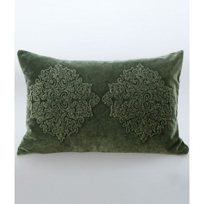 Emblem Cushion by MM Linen - Green
