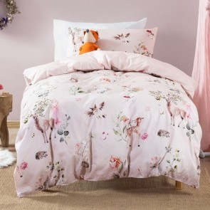 Enchanted Forest Kid's Duvet Cover Set by Squiggles