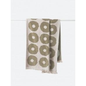 Etta Organic Cotton Towels Matcha/Bone